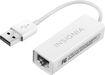 Insignia™ - USB 2.0-to-Ethernet Adapter - White