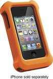 LifeProof - LifeJacket for Apple® iPhone® 4 and 4S - Orange