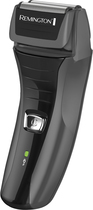 Remington - Men's Dual-Foil Flex HD Shaver - Black/Gray