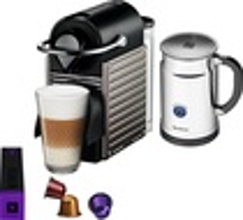 Nespresso - Pixie Espresso Maker/Coffeemaker - Titan