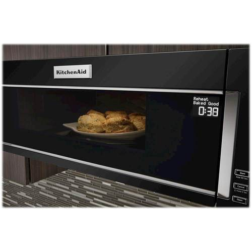 Kitchenaid 1 Cu Ft Over The Range Microwave With Sensor Cooking