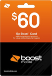 Boost Mobile - $60 Top-Up Prepaid Card