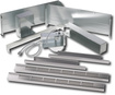 """""Sharp 27"""""""" Built-in Trim Kit For R930CS Microwave Oven, Silver"""""" 863356"