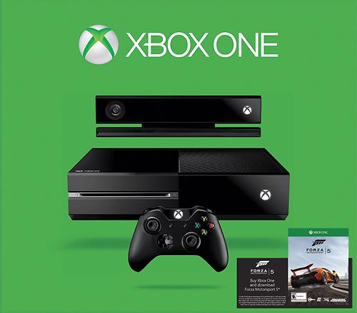 Microsoft - Xbox One Console Forza Motorsport 5 Bundle