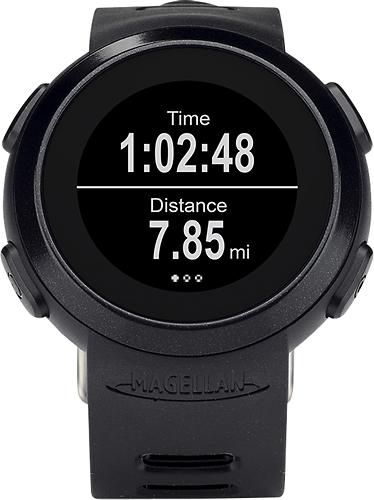 Magellan - Echo Smart Sports Watch - Black