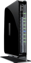 NETGEAR - N750 Dual-Band Wireless-N Gigabit Router with 4-Port Ethernet Switch - Black