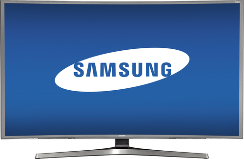 Samsung - 48 Class (47.6 Diag.) - LED - Curved - 2160p - Smart - 3D - 4K Ultra HD TV - Black