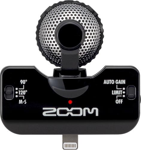Zoom - iQ5 Stereo Condenser Microphone - Black