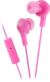 JVC - Gumy Plus Earbud Headphones - Pink
