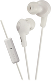 JVC - Gumy Plus Earbud Headphones - White