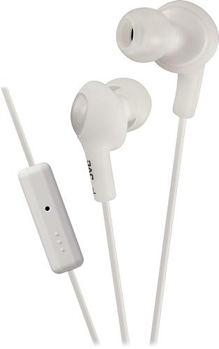 JVC - Gumy Plus Earbud Headphones - White