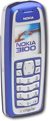Nokia Tri-Mode GSM/GPRS Cell Phone (Cingular)