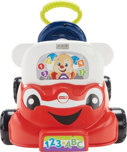 Fisher Price Laugh Learn 3 In 1 Smart Car Red