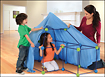 Discovery Kids - Build and Play 77-Piece Construction Fort Set