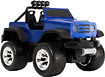 Blue Hat Toy Company - Remote-Controlled Off-Road Safari 4x4 - Blue