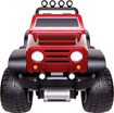 Blue Hat Toy Company - Remote-Controlled Off-Road Safari 4x4 - Red