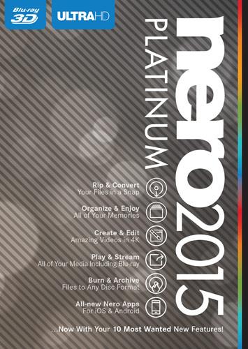 Nero 2015 Platinum - Windows