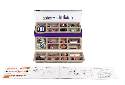 littleBits - Electronics Deluxe Kit - Multi