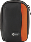 Lowepro - Newport 10 Camera Pouch - Black/Pepper Red