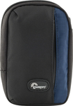 Lowepro - Newport 10 Camera Pouch - Black/Galaxy Blue