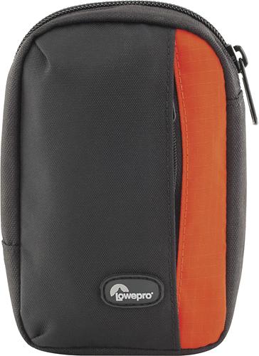 Lowepro - Newport 30 Camera Case - Black/pepper Red