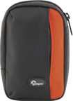 Lowepro - Newport 30 Camera Pouch - Black/Pepper Red