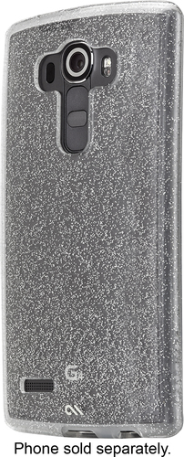 Case-Mate - Sheer Glam Hard Shell Case for LG G4 Cell Phones - Champagne