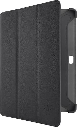 Belkin - Trifold Folio Case for Samsung Galaxy Note 10.1 - Black