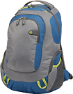 HP - Laptop Backpack - Gray/Yellow/Turquoise
