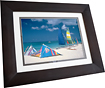 "HP - 10"" Widescreen LCD Digital Photo Frame - Espresso Brown"