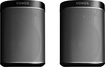 SONOS - PLAY:1 Compact Speakers (Pair) - Black