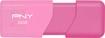 PNY - Attaché 3 32GB USB 2.0 Type A Flash Drive - Pink