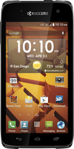 Boost Mobile - Kyocera Hydro Icon 4G No-Contract Cell Phone - Black