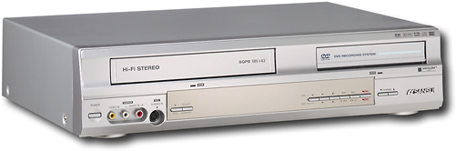 Sansui Progressive-Scan DVD-RW Recorder/4-Head Hi-Fi VCR Combo 6346634