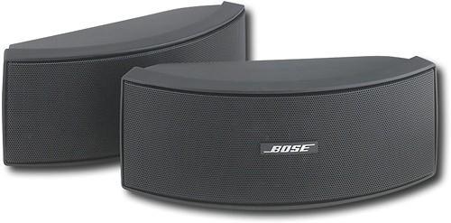 Bose® - 151® SE Environmental Speakers (Pair) - Black