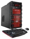 CybertronPC - Nitrox Desktop - AMD FX-Series - 16GB Memory - 2TB Hard Drive + 120GB Solid State Drive - Black/Red