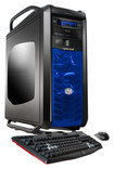 CybertronPC - Desktop - Intel Core i7 - 64GB Memory - 2TB HDD + 120GB Solid State Drive + 120GB Solid State Drive - Black/Blue
