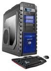 CybertronPC - Eliminator Desktop - Intel Core i7 - 32GB Memory - 2TB Hard Drive - 120GB Solid State Drive - Black/Blue