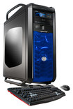 CybertronPC - Desktop - Intel Core i7 - 32GB Memory - 2TB HDD + 120GB Solid State Drive + 120GB Solid State Drive - Black/Blue