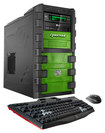 CybertronPC - Krypto Desktop - AMD FX-Series - 32GB Memory - 2TB Hard Drive + 120GB Solid State Drive - Black/Green