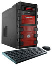 CybertronPC - Frenzy Desktop - Intel Core i7 - 16GB Memory - 2TB Hard Drive - 120GB Solid State Drive - Black/Red