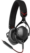 V-MODA - Crossfade M-80 On-Ear Headphones - Black/Red