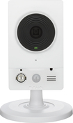 D-Link - High-Definition Wi-Fi Video Security Camera - White