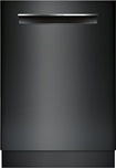 "Bosch - 500 Series 24"" Tall Tub Built-In Dishwasher - Black"