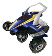 Blue Hat Toy Company - Street Savage Remote-Controlled Stunt Car - Blue