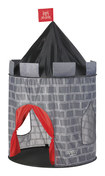 Discovery Kids - Pop-Up Knight Play Castle - Red/Black/Gray