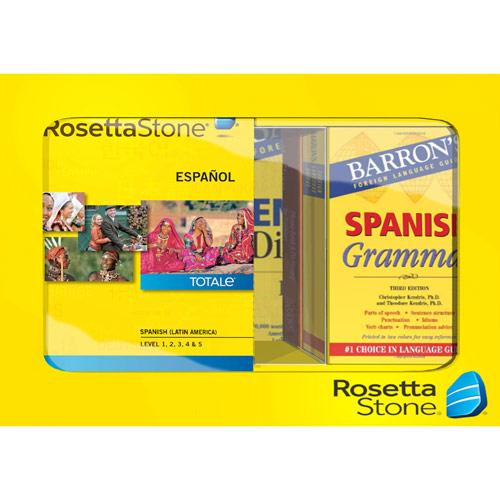 Rosetta Stone TOTALe: Spanish (Latin America) Level 1-5 Set Bundle - Mac|Windows