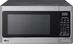 LG - 1.1 Cu. Ft. Mid-Size Microwave - Stainless-Steel