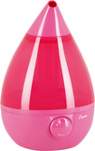 Crane - 0.9-Gal. Ultrasonic Drop Shape Humidifier - Pink