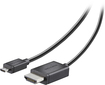 Insignia™ - 8' HDMI-to-Micro HDMI Cable - Black
